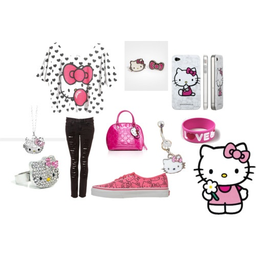 Hello Kitty Swag Outfi...