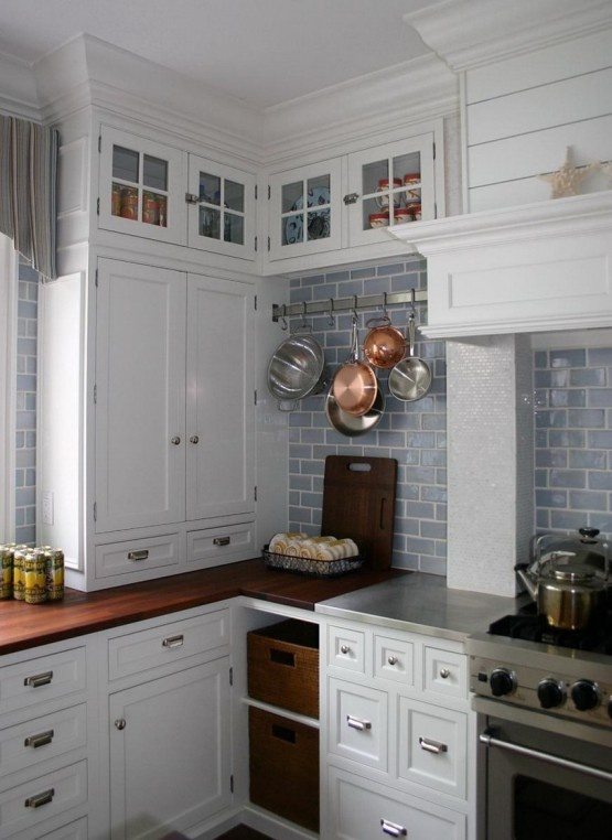 Pin by jennifer hillman on kitchen love pinterest for Nautical kitchen backsplash
