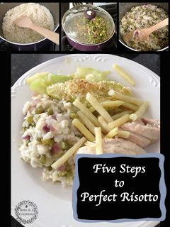 Bebe: Five Steps to Perfect Risotto | Yummy Recipes I want to try | P ...