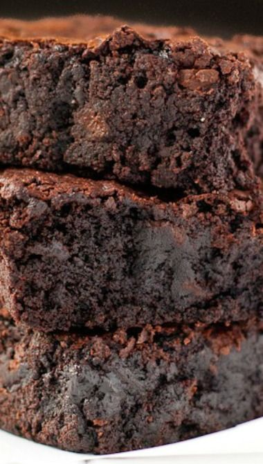 Easy One Pot Fudgy Brownies | Recipe