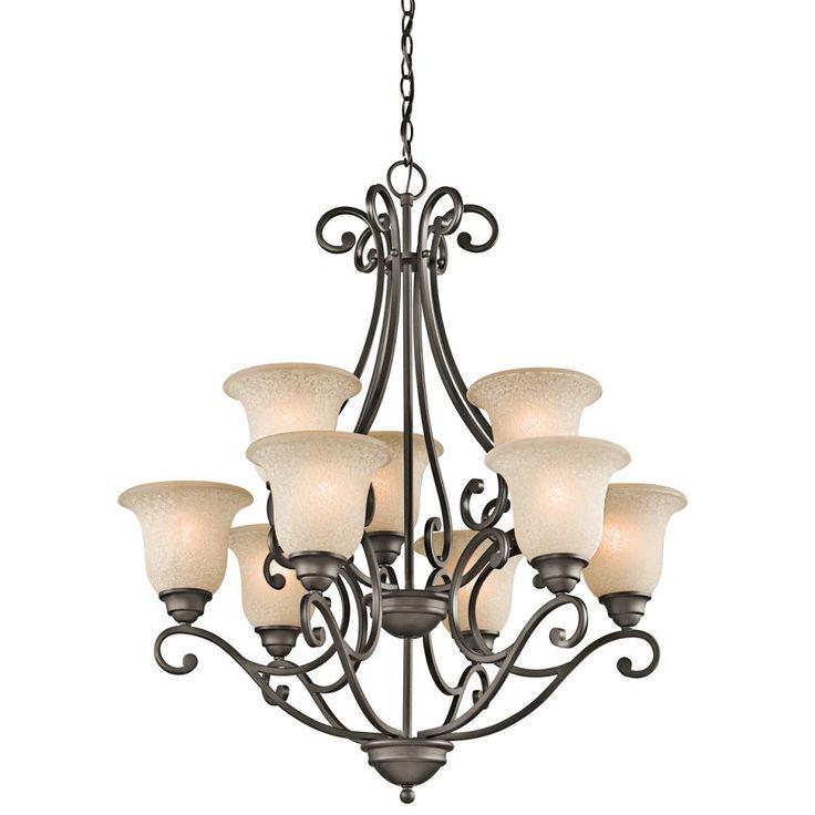 kichler 9 light up bronze chandelier lighting ideas for