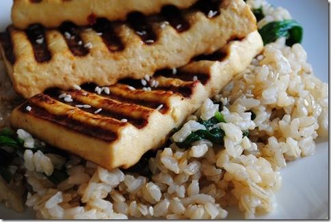 Grilled Asian Tofu | let's eat! | Pinterest