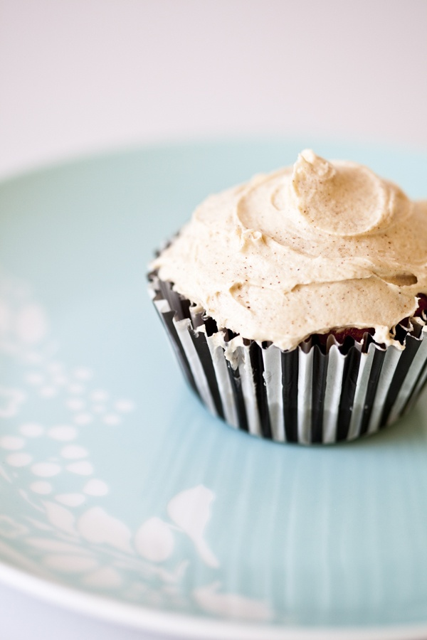 Honey Cinnamon Frosted Banana Cupcakes | Desserts & Sweets | Pinterest