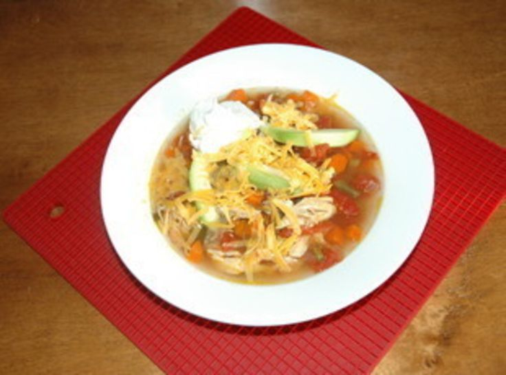 Spicy Chicken Soup | soup and chili recipes | Pinterest