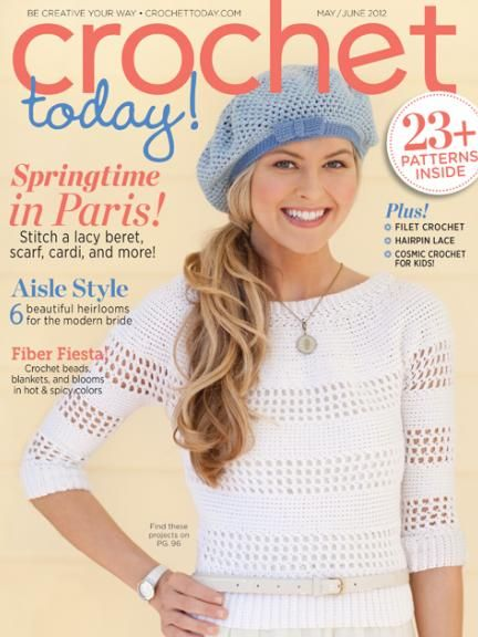 Crochet Today Magazine : Crochet today! magazine Playing with Needles Pinterest
