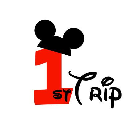 Mickey Mouse counting your visits Iron On Transfer $7.00 @Etsy
