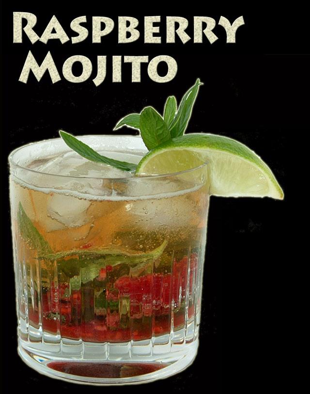 Delicious Raspberry Mojito cocktail   21!   Pinterest