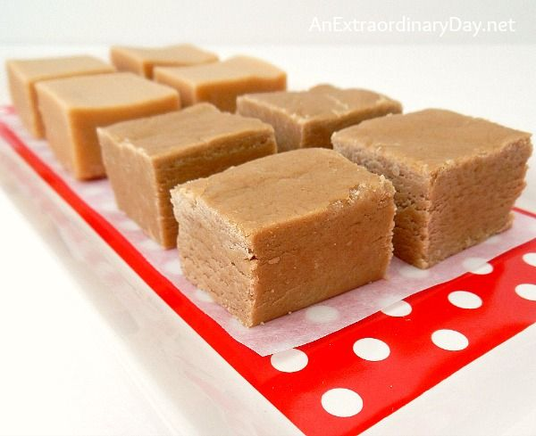 Yummy Peanut Butter Fudge Recipes :: AnExtraordinaryDay.net