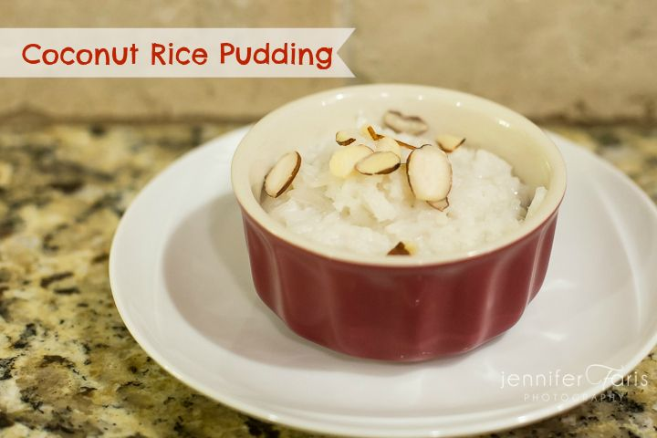 Coconut Rice Pudding (GF, DF) | Allergen free | Pinterest
