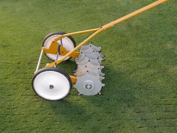 Five tools for aerating your lawn - Escarificador de cesped ...