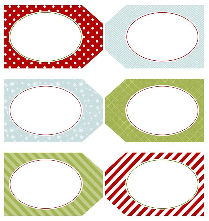 Christmas gift tags. | Printables | Pinterest