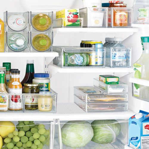 DIY:: How to organize your fridge and clear out clutter !!