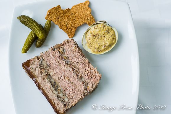 Rustic Lambs and Clams Pâté with Lamb Crackers Recipe ♥