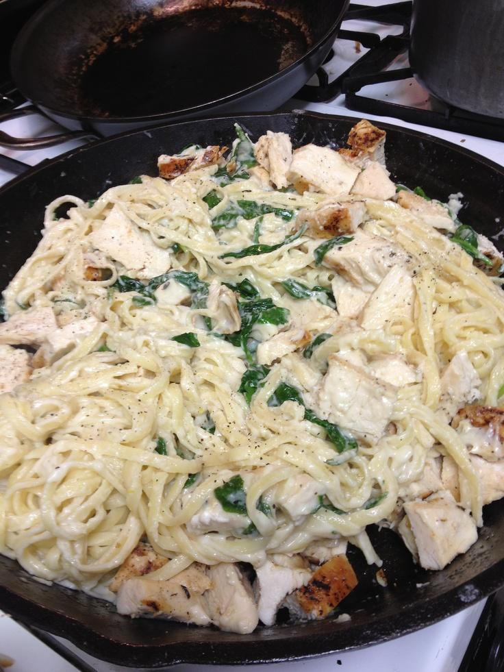 Grilled chicken florentine pasta!! | Recipes | Pinterest