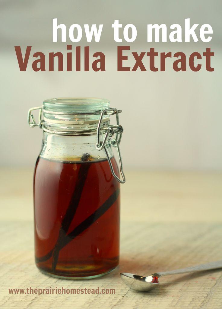 How to Make Vanilla Extract | Recipe