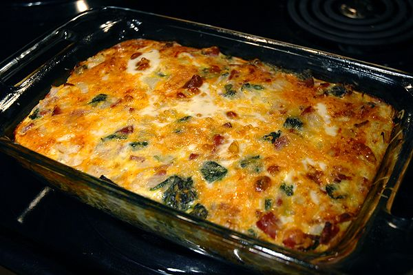 Spinach Millet Egg Bake Recipe — Dishmaps
