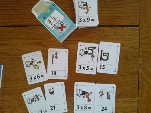 Apprendre les tables de multiplication ecole pinterest for Apprendre les table