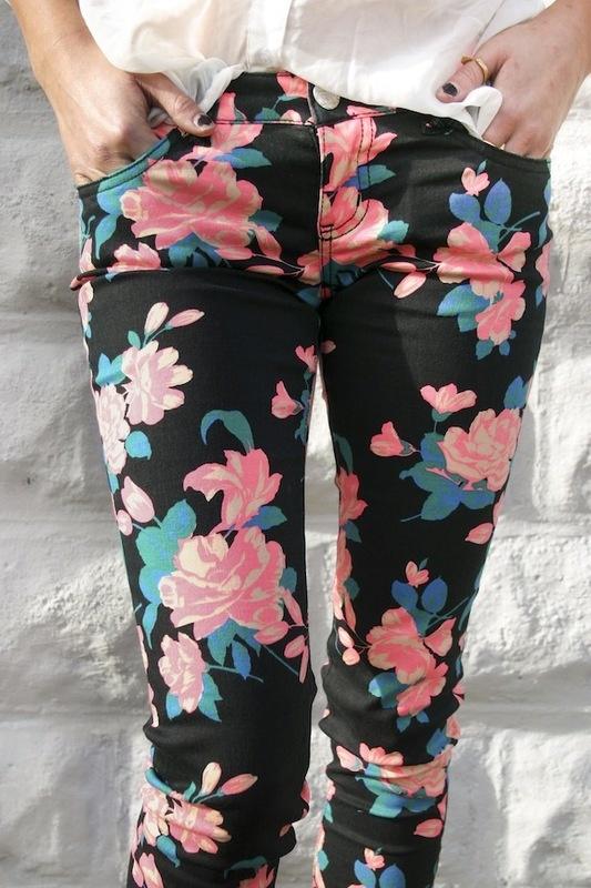 Floral Haven Pants