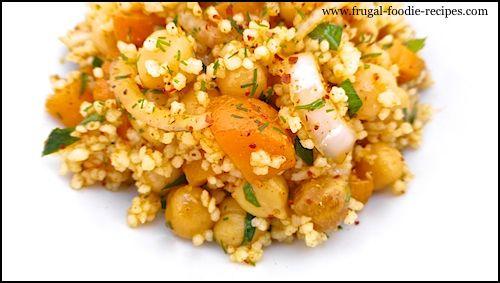 Chickpea & Couscous Salad | Mediterranean Diet Recipes | Pinterest