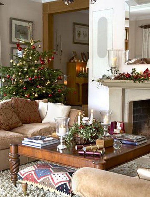 Decorating Ideas Home Christmas Interior Designs Ideas For Country