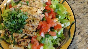 More like this: chicken salads , grilled chicken and salad .