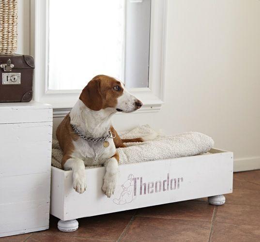 DIY Dog Bed Basket