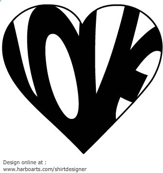 love-text-heart-shape-vector-graphics | Photography Tips | Pinterest