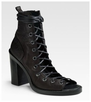 Ann Demeulemeester shoes are fabulous
