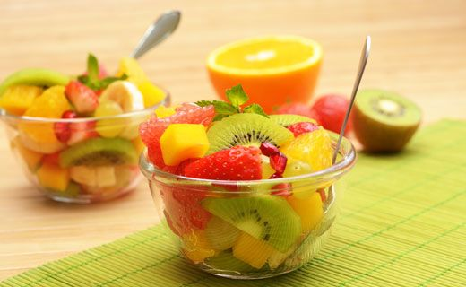 Epicure's Tropical Fruit Salad | The Feed | Pinterest