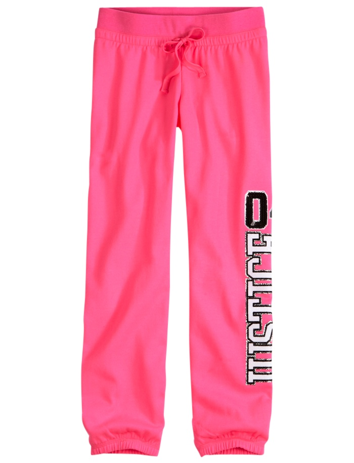 Neon Roll-Cuff Sweatpants | Sweatpants | Clothes | Shop Justice 8