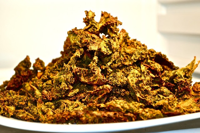 Vegan Cheesy Kale Chips | HEALTH: Good-for-You Entrees & Veggies | Pi ...