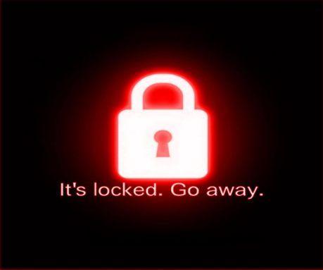 its locked go away wallpaper pinterest