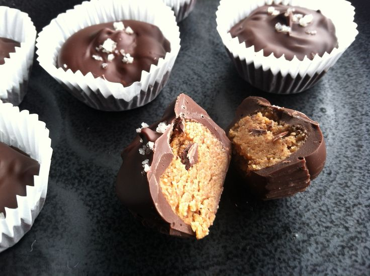 almond butter cups 2 | foody | Pinterest