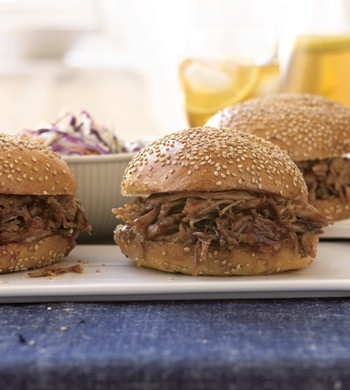 Slow-Cooked Pulled Pork Sandwiches | Recipes I want to try | Pinterest
