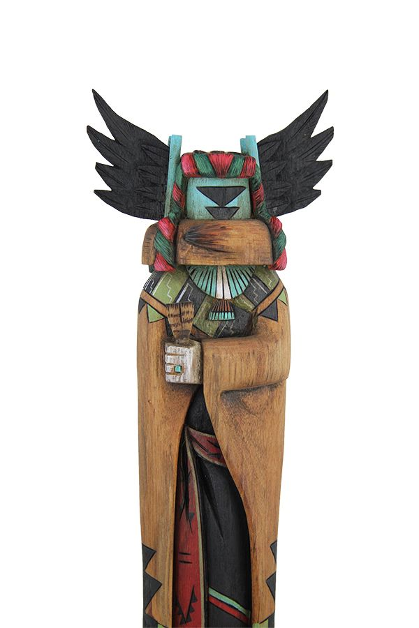 crow mother by malcolm cheromiah native american kachinas hopi