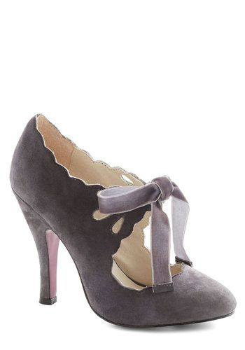 Stagehand in Hand Heel in Grey, #ModCloth