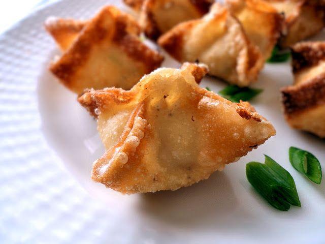 homemade crab rangoon   yum   Pinterest
