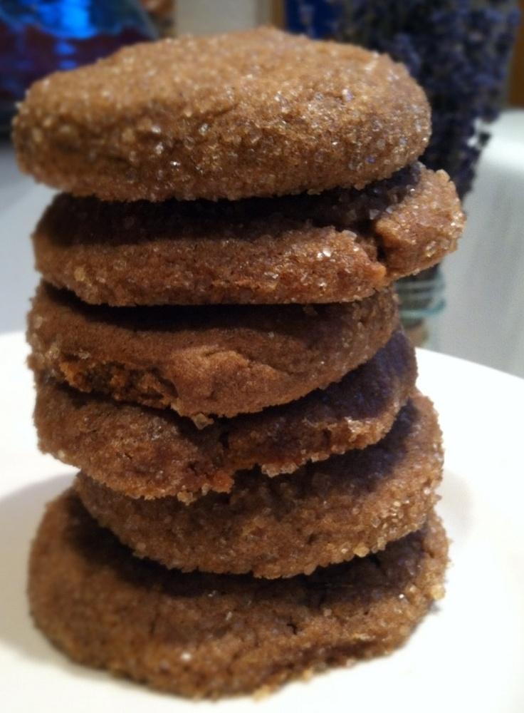 Spicy Gingerbread Cookies Recipe — Dishmaps