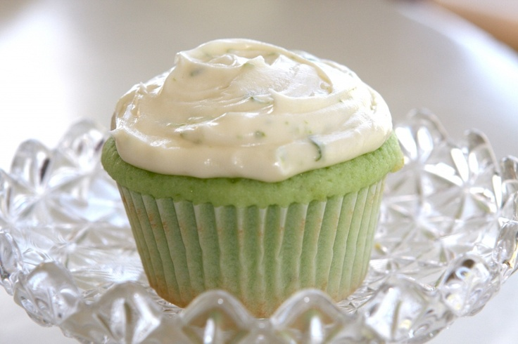 Key Lime Cupcakes....great for St. Patrick's Day