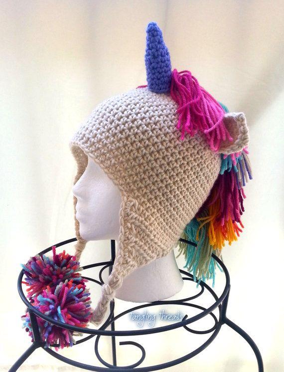 Unicorn hat, Crochet unicorn, Halloween costume, Costume, Gift ideas ...