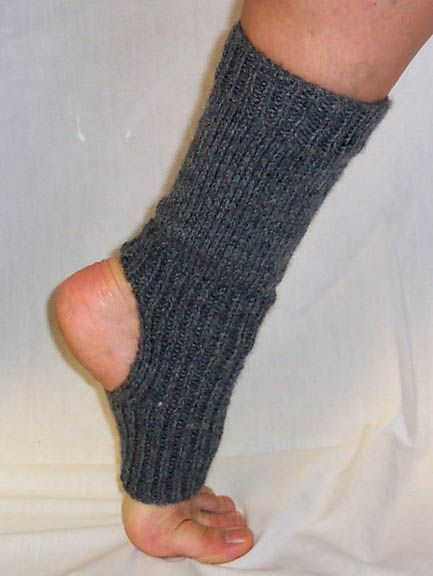 Yoga Sock // Apple Farm Knitting stuff Pinterest