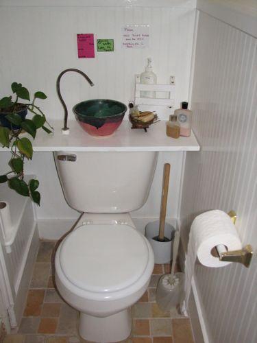 sink & toilet combination Bathroom ideas Pinterest