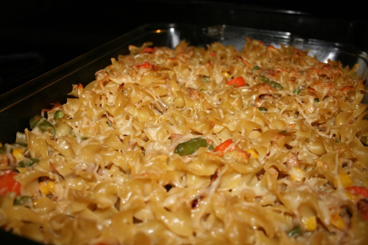 Skinny Tuna Noodle Hot Dish (From our blog: Like Mother's, Like ...