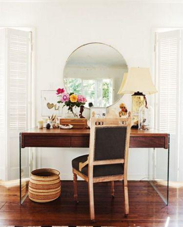Vanity + desk