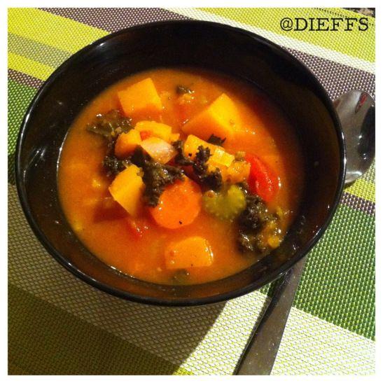 Autumn Vegetable Soup (Whole30 Friendly)   Whole30/Paleo   Pinterest