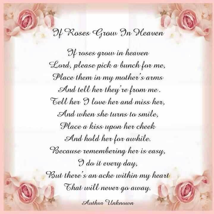 Miss you so much, mom. ;( | Scriptures n Quotes | Pinterest