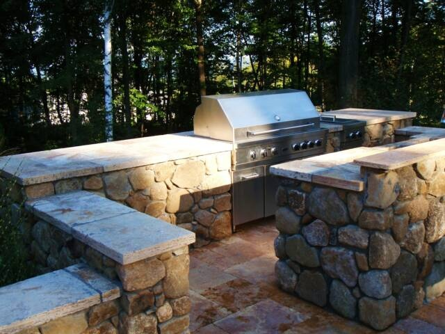 Pinterest for Outside cooking area