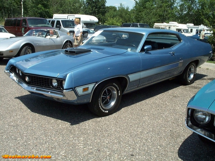 1970 Ford Torino Gt Muscle Cars Pinterest
