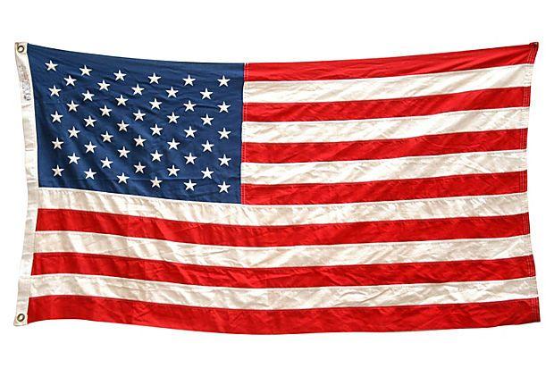 usa flag star