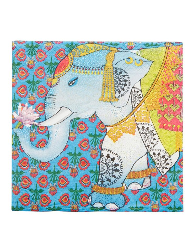 PANCHILI servett multi | Papernapkins | Napkin | napkin | Kökstextil | Inredning | INDISKA Shop Online